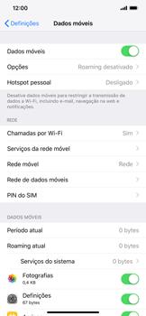 Apple iPhone XR - Internet no telemóvel - Como ativar os dados móveis -  5