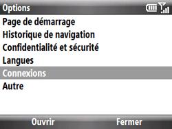 HTC S521 Snap - Internet - Configuration manuelle - Étape 14