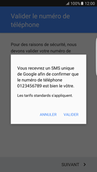 Samsung Samsung G925 Galaxy S6 Edge (Android M) - Applications - Créer un compte - Étape 9