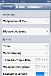 Apple iPhone 4 met iOS 6 - E-mail - e-mail instellen: POP3 - Stap 4