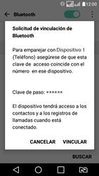 LG K4 (2017) - Bluetooth - Conectar dispositivos a través de Bluetooth - Paso 7