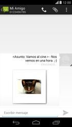Motorola Moto X (2ª Gen) - Mensajería - Escribir y enviar un mensaje multimedia - Paso 18
