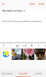 Samsung G389 Galaxy Xcover 3 VE - E-mail - Sending emails - Step 12