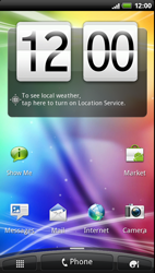 HTC Z710e Sensation - Internet - Manual configuration - Step 1