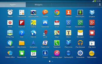Samsung P5220 Galaxy Tab 3 10-1 LTE - E-mail - envoyer un e-mail - Étape 2