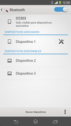 Sony Xperia M2 - Bluetooth - Conectar dispositivos a través de Bluetooth - Paso 8