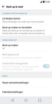 LG G6 H870 - Resetten - Fabrieksinstellingen terugzetten - Stap 5