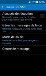 Samsung G357 Galaxy Ace 4 - SMS - Configuration manuelle - Étape 9