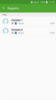 Samsung Galaxy J7 - Chamadas - Como bloquear chamadas de um número específico - Etapa 10