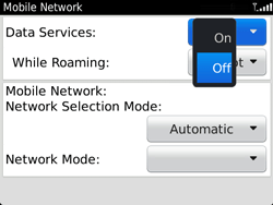 BlackBerry 9720 Bold - Internet - Enable or disable - Step 7