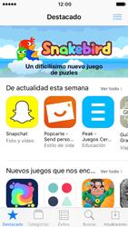 Apple iPhone SE iOS 10 - Aplicaciones - Tienda de aplicaciones - Paso 3