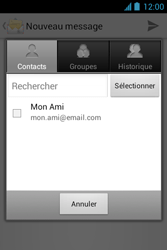 Bouygues Telecom Bs 351 - E-mails - Envoyer un e-mail - Étape 6