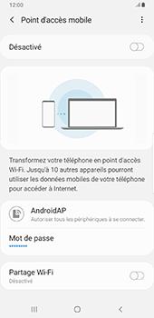 Samsung Galaxy S9 Plus - Android Pie - Internet - comment configurer un point d'accès mobile - Étape 12