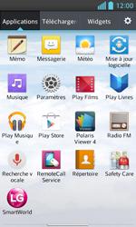 LG Optimus L5 II - Contact, Appels, SMS/MMS - Ajouter un contact - Étape 3