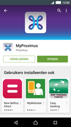 Sony E2303 Xperia M4 Aqua - Applicaties - MyProximus - Stap 10