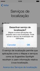 Apple iPhone 5s iOS 8 - Primeiros passos - Como ligar o telemóvel pela primeira vez -  12