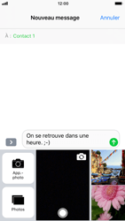 Apple iPhone 8 - Contact, Appels, SMS/MMS - Envoyer un MMS - Étape 11