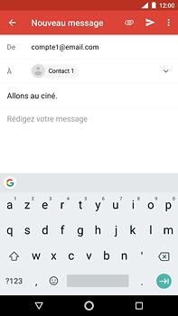 Nokia 6 (2018) - E-mail - envoyer un e-mail - Étape 7