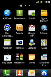 Samsung Galaxy Ace - Basisfunktionen - Hard- und Softreset - Schritt 4
