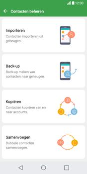 LG G6 (LG-H870) - Contacten en data - Contacten kopiëren van SIM naar toestel - Stap 7