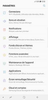 Samsung Galaxy Note 8 - Sécuriser votre mobile - Personnaliser le code PIN de votre carte SIM - Étape 4