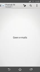 Sony D6603 Xperia Z3 - E-mail - e-mail instellen: IMAP (aanbevolen) - Stap 4