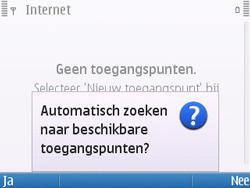 Nokia E5-00 - Internet - handmatig instellen - Stap 9