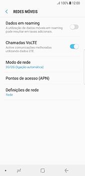 Samsung Galaxy S8 - Android Oreo - Internet no telemóvel - Como ativar 4G -  6