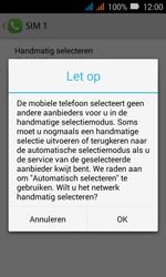 Huawei Y3 - Netwerk - Handmatig een netwerk selecteren - Stap 7