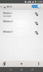 Sony Xpéria E1 Dual - Internet et connexion - Accéder au réseau Wi-Fi - Étape 8