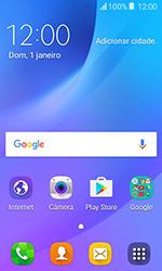 Samsung Galaxy J1 - Funções básicas - Como reiniciar o aparelho - Etapa 1