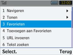 Samsung S3570 Chat 357 - Internet - Internetten - Stap 10