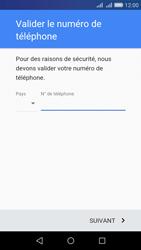 Huawei Y6 - Applications - Créer un compte - Étape 6