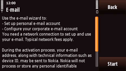 Nokia N97 Mini - E-mail - Manual configuration - Step 8