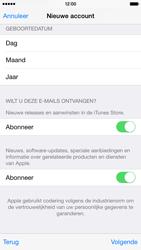 Apple iPhone 6 - Applicaties - Account instellen - Stap 18
