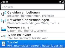BlackBerry 9780 Bold - Instellingen - Configuratiebericht ontvangen - Stap 4