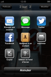 Apple iPhone 4 - iOS 6 - E-mail - envoyer un e-mail - Étape 6