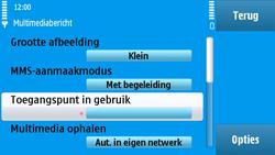 Nokia N97 - MMS - handmatig instellen - Stap 23