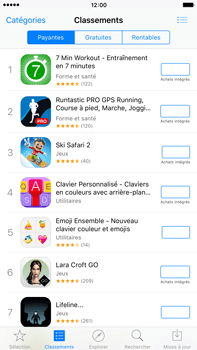 Apple iPhone 6s Plus - Applications - Télécharger une application - Étape 7