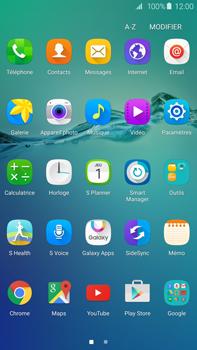 Samsung Galaxy S6 edge+ - Device maintenance - Retour aux réglages usine - Étape 4