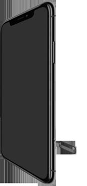 Apple iPhone XR - Toestel - simkaart plaatsen - Stap 2