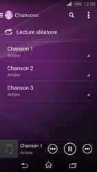 Sony Xpéria E3 - Photos, vidéos, musique - Ecouter de la musique - Étape 6