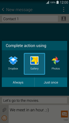 Samsung G901F Galaxy S5 4G+ - Mms - Sending a picture message - Step 16