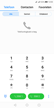 Huawei Mate 10 Pro Dual-SIM (Model BLA-L29) - Voicemail - Handmatig instellen - Stap 3