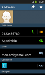 Samsung Galaxy Ace 3 - Contact, Appels, SMS/MMS - Ajouter un contact - Étape 15