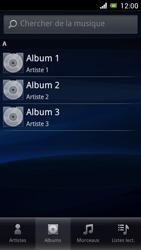 Sony Ericsson Xpéria Arc - Photos, vidéos, musique - Ecouter de la musique - Étape 5