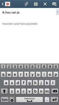 Samsung N9005 Galaxy Note III LTE - E-mail - E-mails verzenden - Stap 10