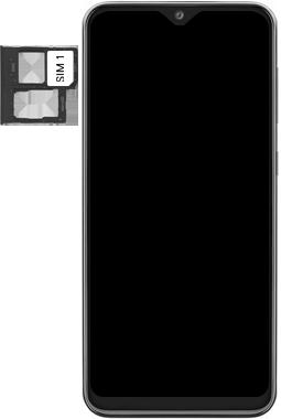 Samsung Galaxy A20e - Device - Insert SIM card - Step 4