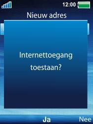 Sony Ericsson W100i Spiro - Internet - Hoe te internetten - Stap 6