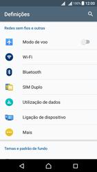 Sony Xperia X Dual SIM (F5122) - Internet no telemóvel - Como configurar ligação à internet -  4